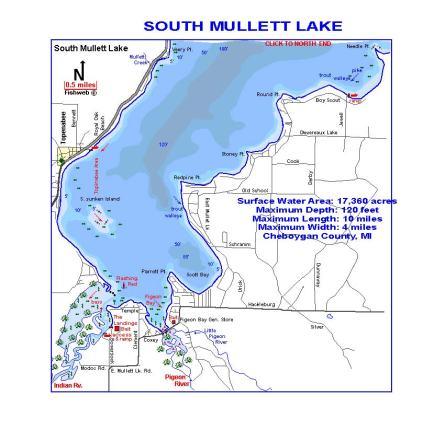 South Mullett Lake