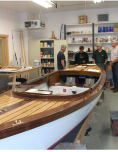 Visit to the Boat Building School